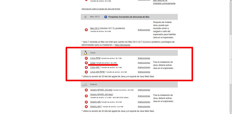 fp Kanarias: Plugin de Java para Google Chrome en Linux ...