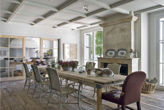 Country style chic french country style - Casa country style ...