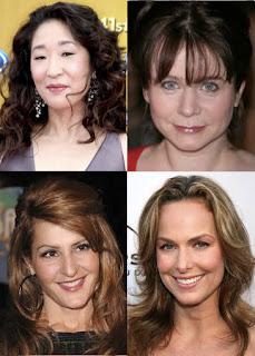 The cast of 33 Liberty Lane: Sandra Oh, Emily Watson, Nia Vardalos and Melora Hardin.