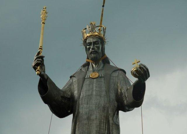 Czarny Chrystus w Ustroniu