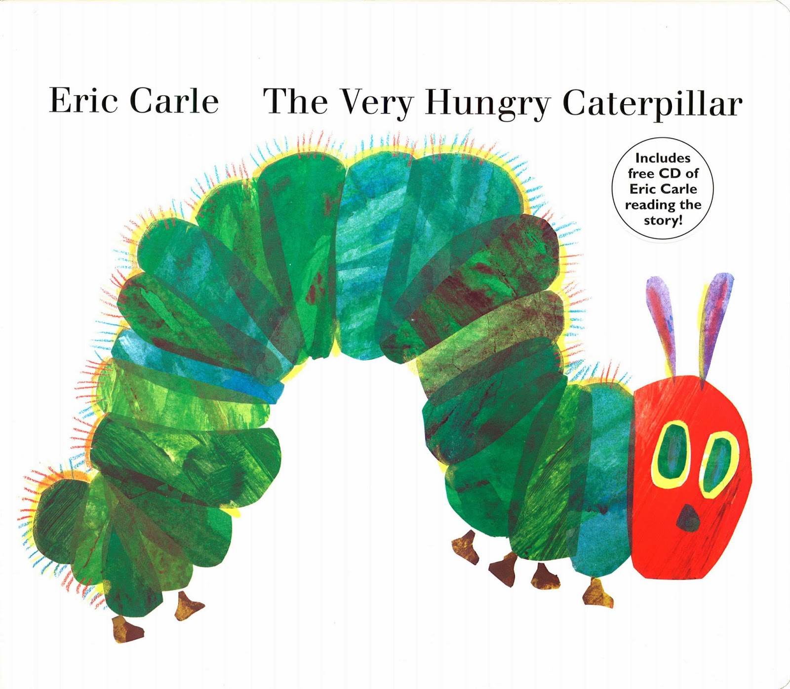 25 Very Hungry Caterpillar Crafts on Eric Carle Author Study