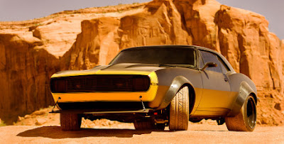 Chevrolet Camaro SS 1967 Bumblebee on Transformer 4