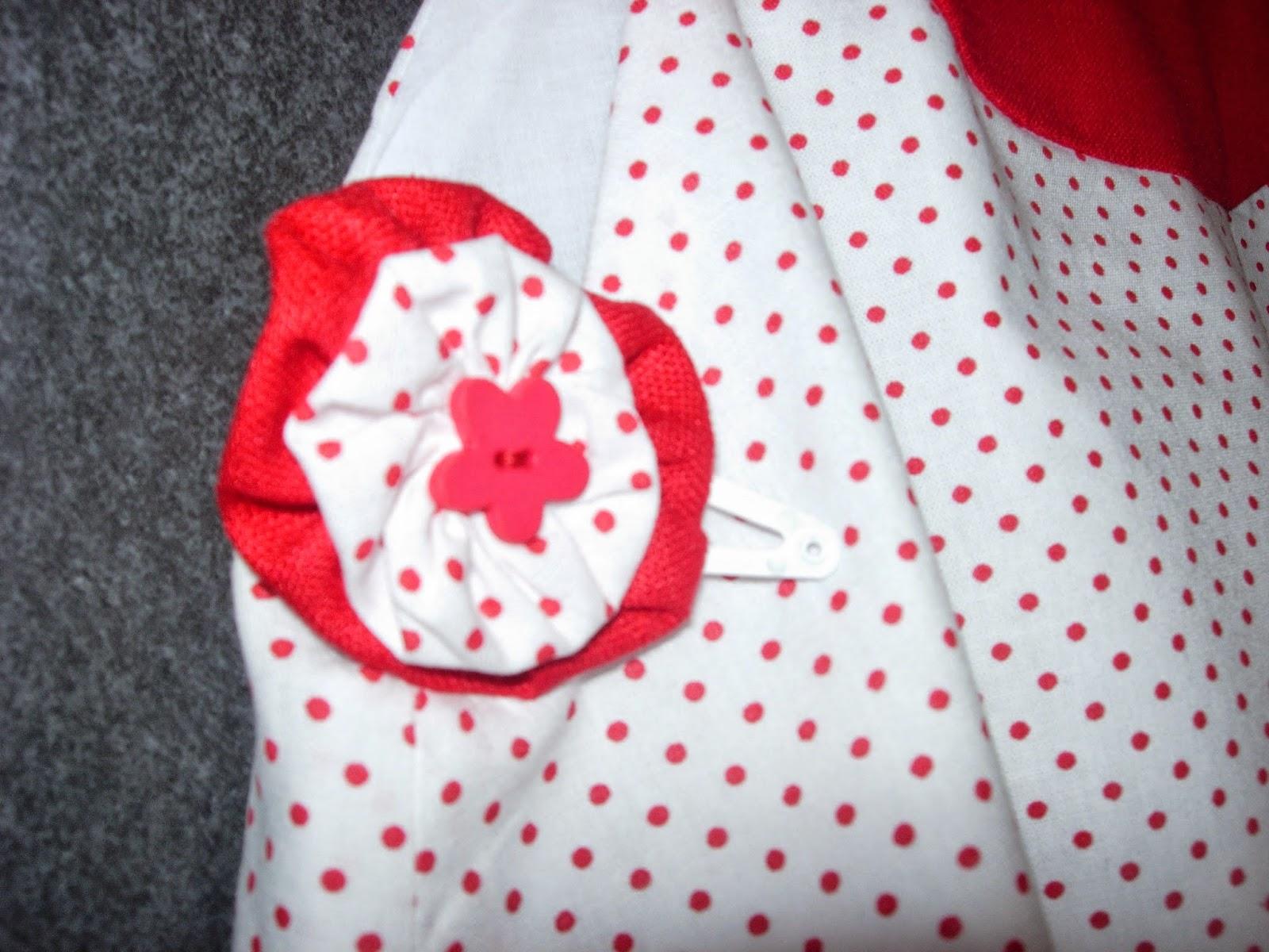 Couture origami de Céline Girardeau - barette