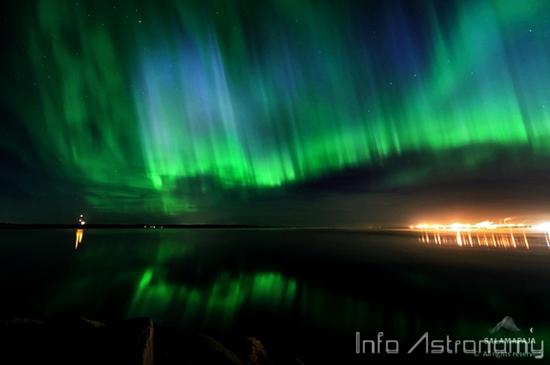 Aurora yang Memukau Muncul di Langit Finlandia