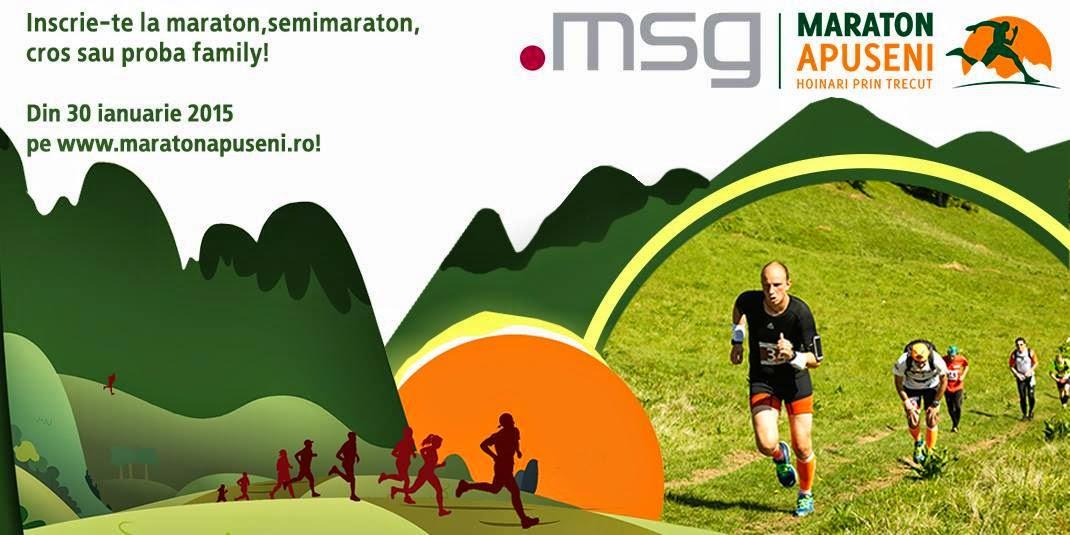 Din 30 ianuarie încep înscrierile la Maraton Apuseni 2015