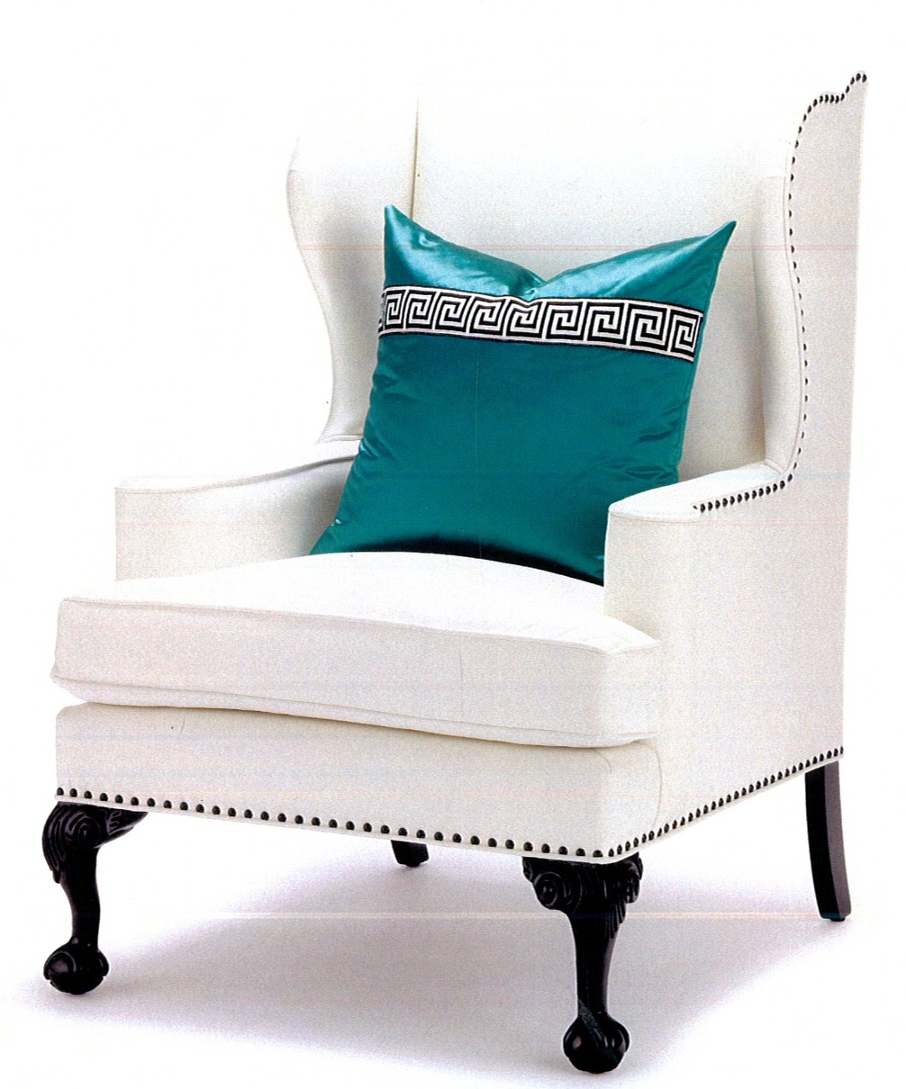 paris wing chair by pal smith