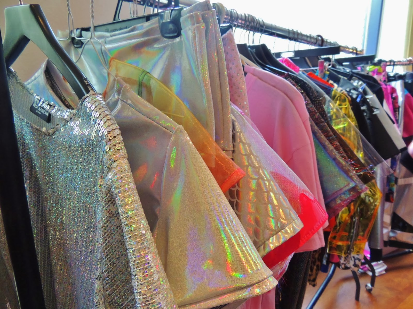 Sequin, PVC and gauze pieces on sale at The Stylists' Rail