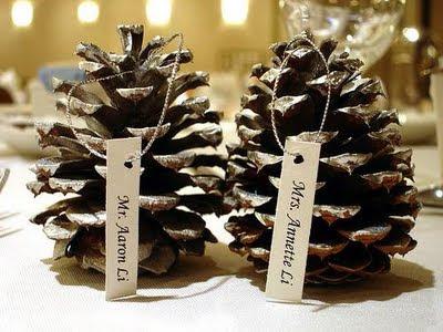 Just bee fashion pine cone decor