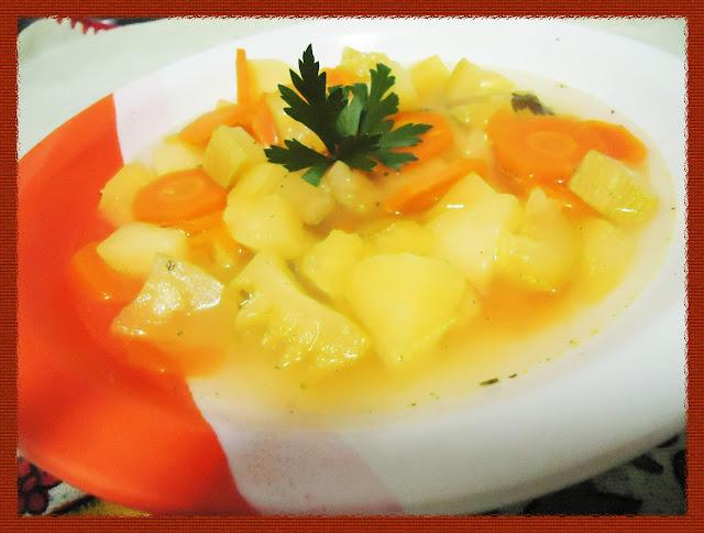 Sopa de Legumes quentinha
