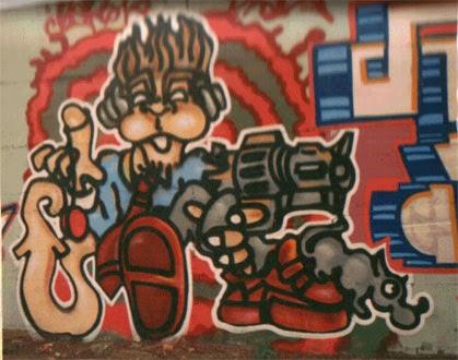 Personaje graffiti