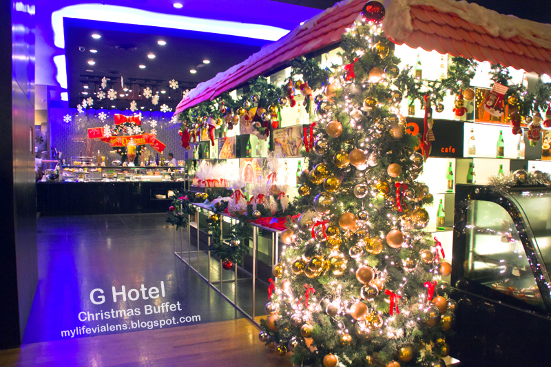 Christmas 2014 Buffet Dinner at G Hotel G Cafe