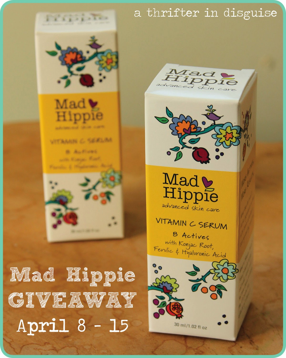 Mad Hippie Giveaway