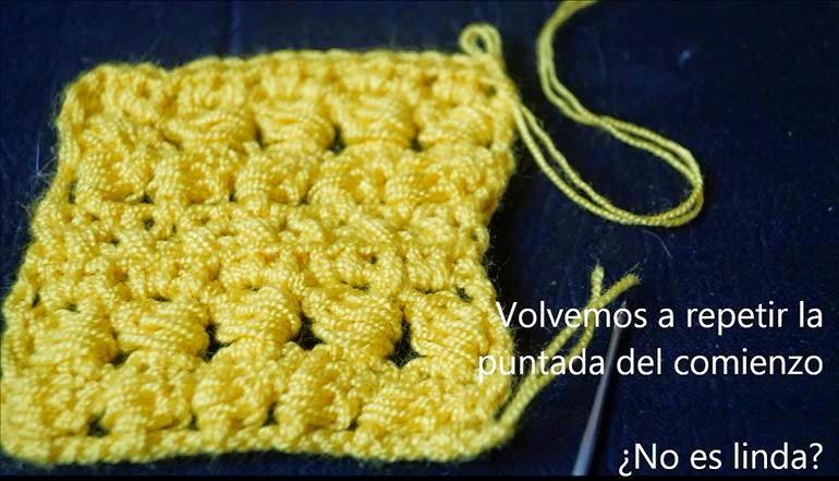 Puntada de Crochet Paso 14
