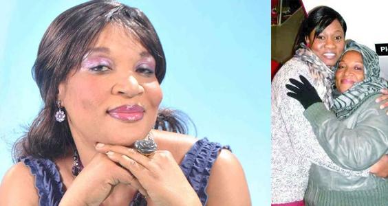 Nigerian actress Ngozi returns home