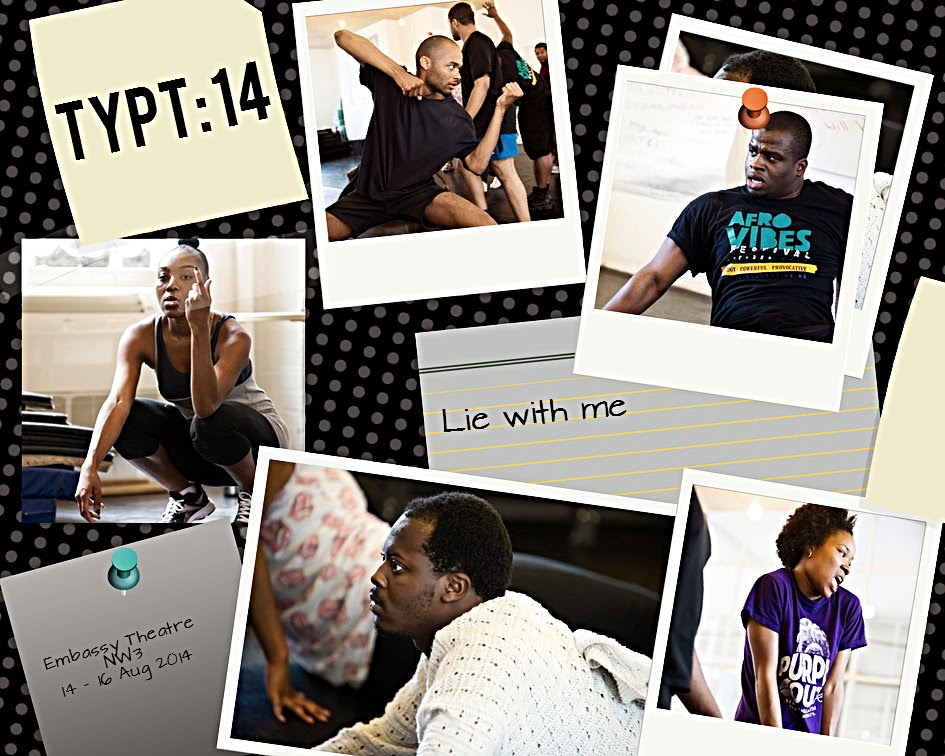 Talawa Theatre Company's TYPT 14 production, LIE WITH ME