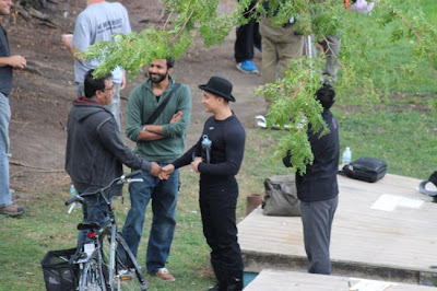 Aamir, Abhishek & Amitabh Bachchan in Chicago for Dhoom 3 shooting