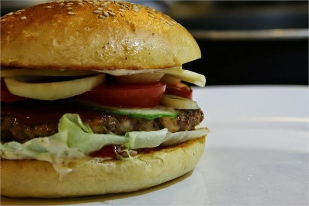 Hamburger, selbstgemacht