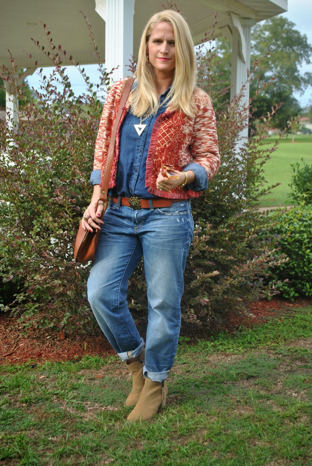 How to Wear Denim on Denim for Fall