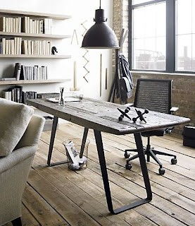 On The One Hand, This Phoenix Work Table From Crate U0026 Barrel Is Beautiful  In Its Simplicity. And I Love How It Looks Like Something You Dug Up In ...