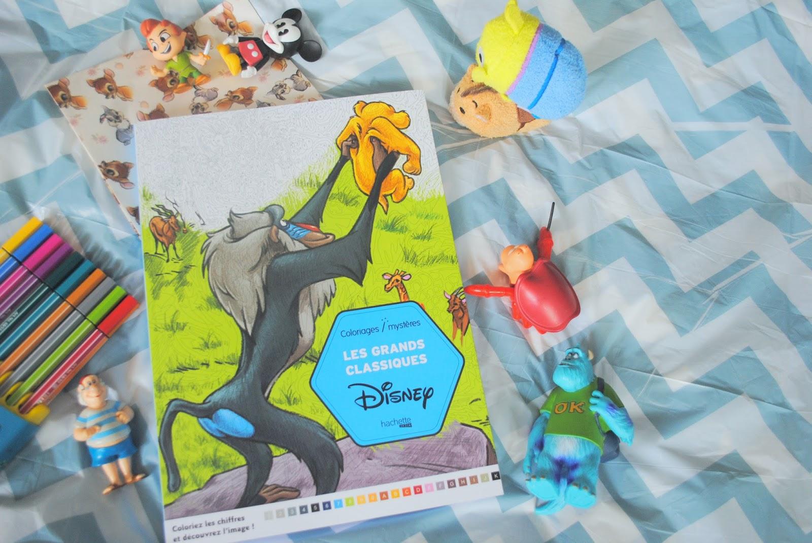 Les Grands Classiques Disney A Colorier
