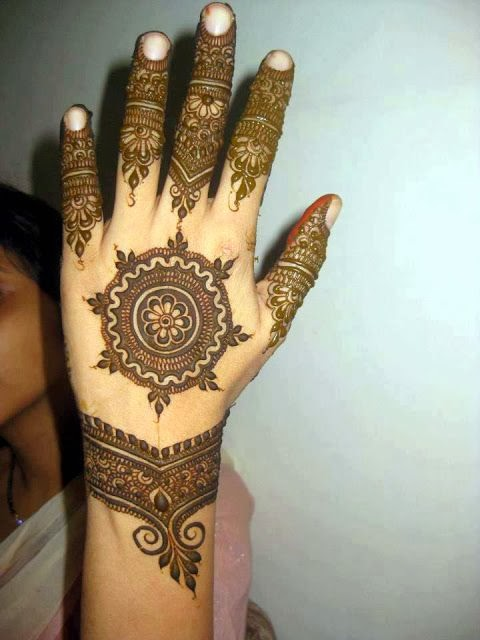 Gallery For Gt Mehndi Designs Circle