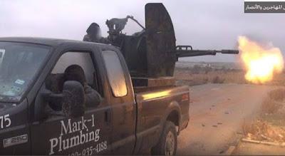 buongiornolink - Isis, il pick-up dell'idraulico va in battaglia