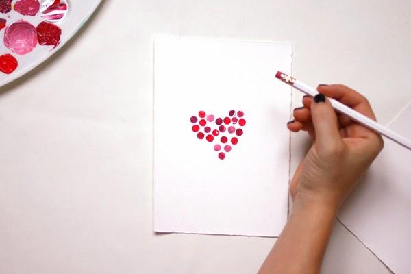 Tarjeta para San Valentín en Recicla Inventa