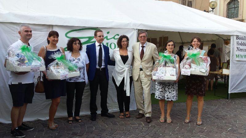 Il secondo premio a Ricami in Piazza