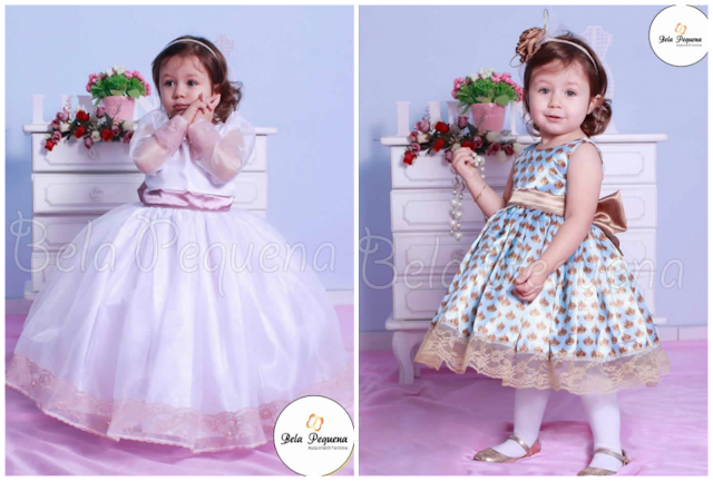 40 Vestidos para festa infantil