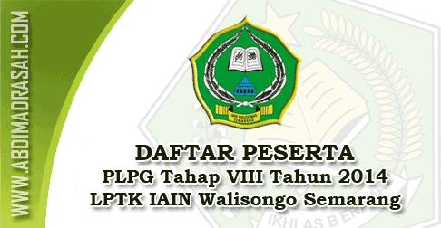 PLPG Tahap 8 IAIN Walisongo