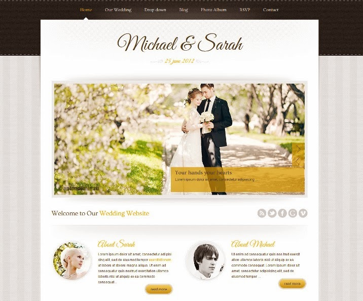 Marriage - Responsive Wedding WordPress Theme