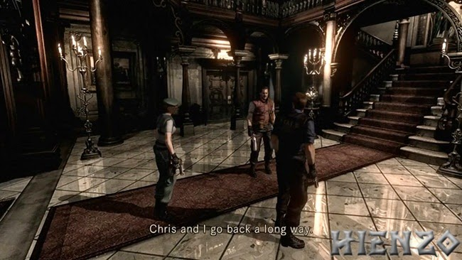Resident Evil HD Remaster PC Gameplay