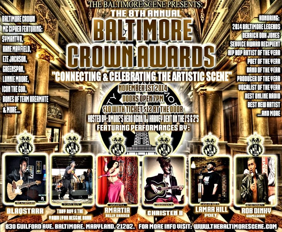 Baltimore Crown Awards 2014