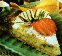 Resep Cake Pisang Almond