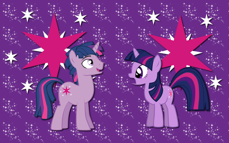 Twilight sparkle and dusk shine