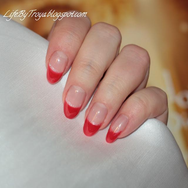 Круглые ногти без маникюра фото