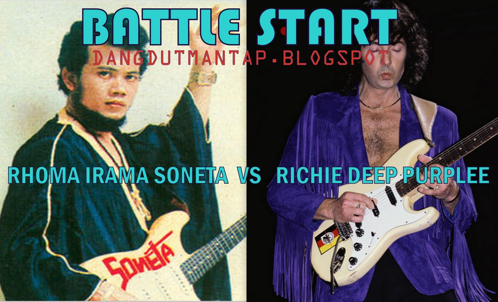 Cassette Dangdut : rhoma irama soneta vs richie deep purple