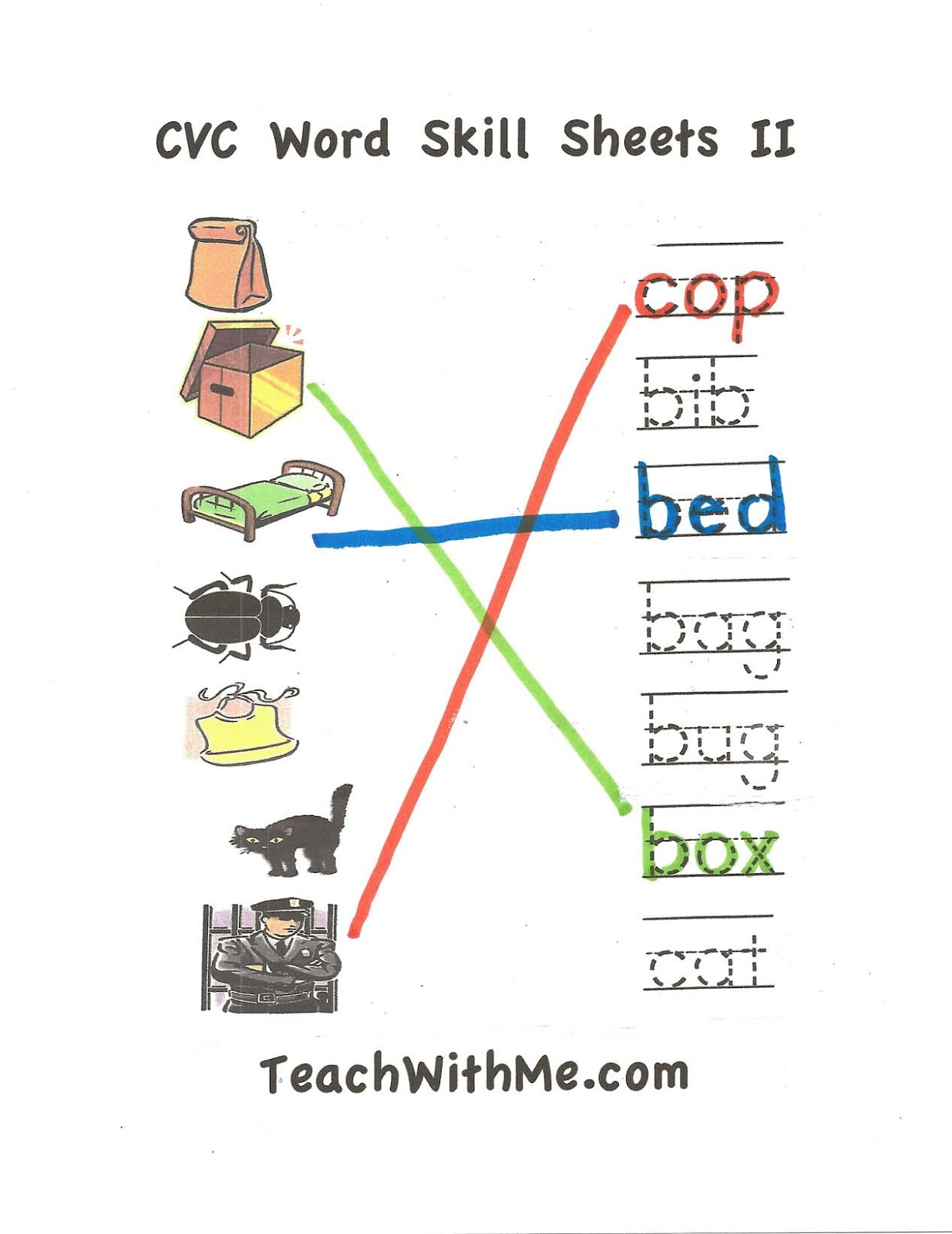 Free Worksheet Cvc Worksheet classroom freebies cvc worksheet packet 2 2