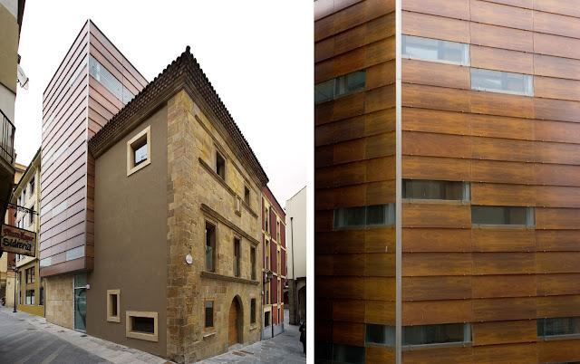 Colegio oficial de arquitectos de gij n espacios en madera - Arquitectos gijon ...
