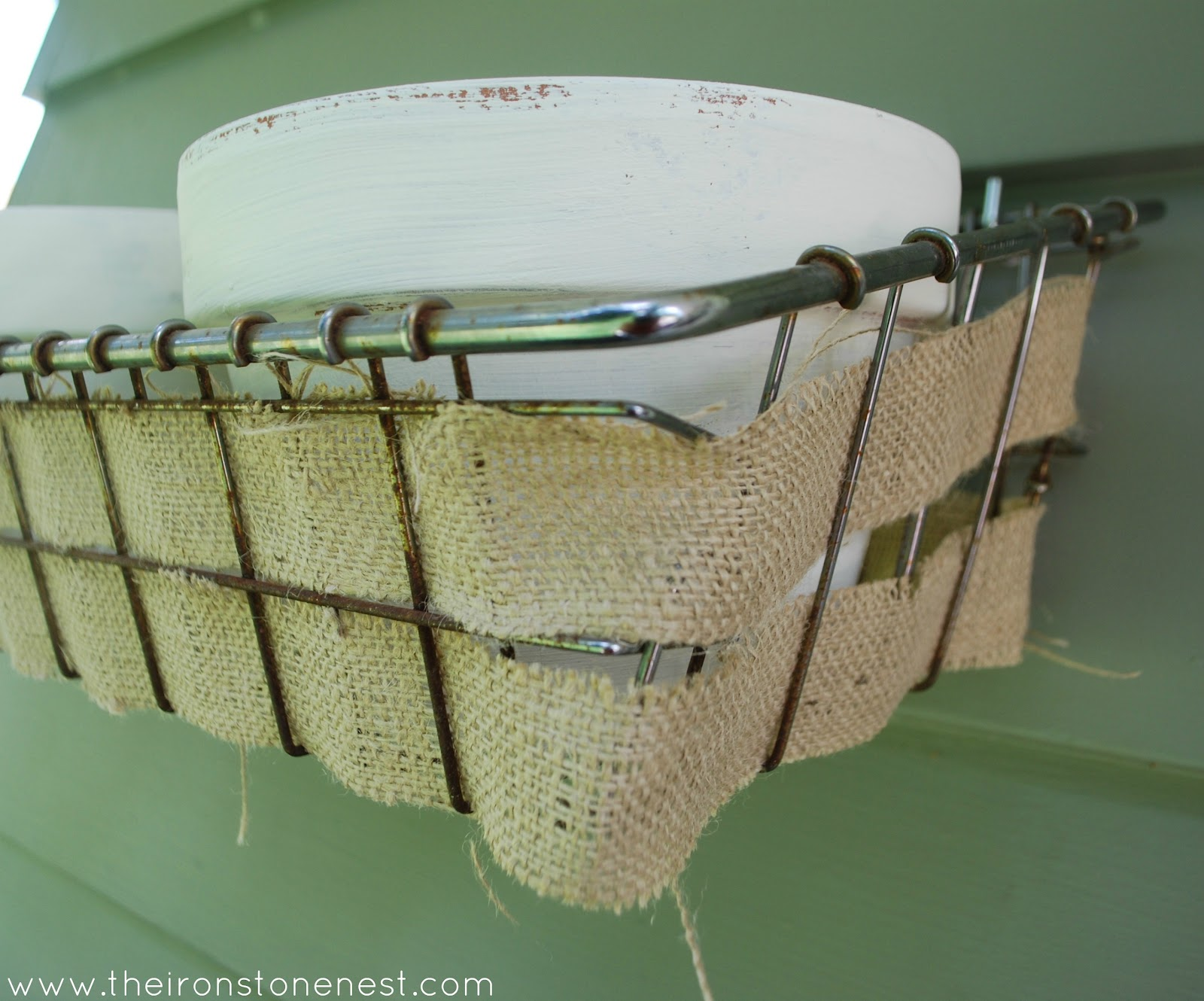 Basket Weaving Hobby Lobby : A wire basket and hypothetical