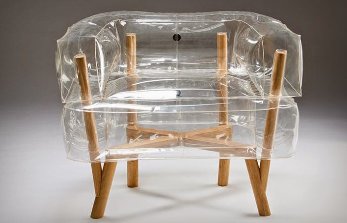 Anda Inflatable Chair By Tehila Guy ~ Modernistic Design