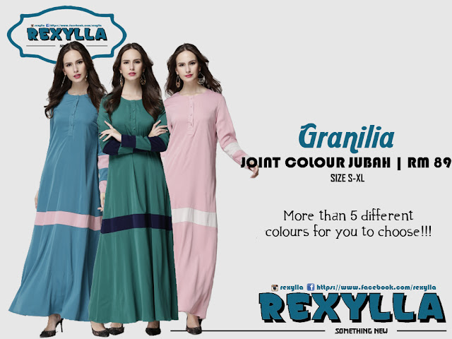 rexylla, jubah, joint colour, granilia collection