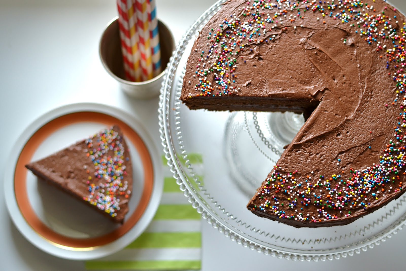 Living In Vogue: Mexican Hot Chocolate Cake