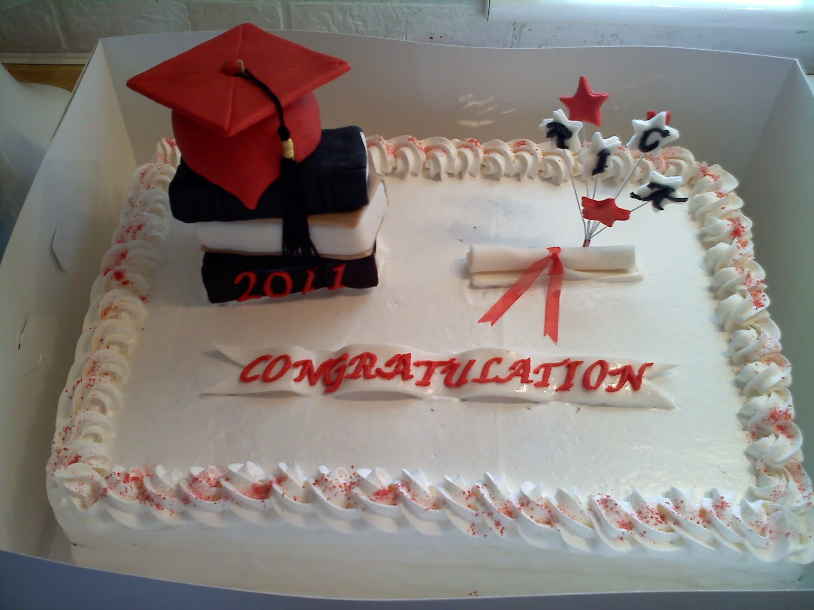 Cake Images With Name Pinky : Pinky Promise Cakes: Graduation cake