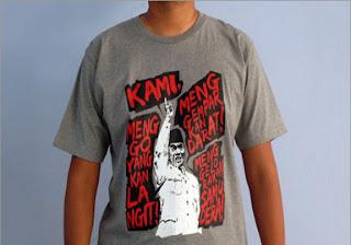 Kaos Distro Pidato Soekarno real | Distro Gaul