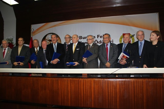 32. Burhan Felek Basın Hizmet Ödülleri verildi