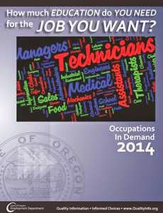 NEW! Occupations in Demand 2012-2022