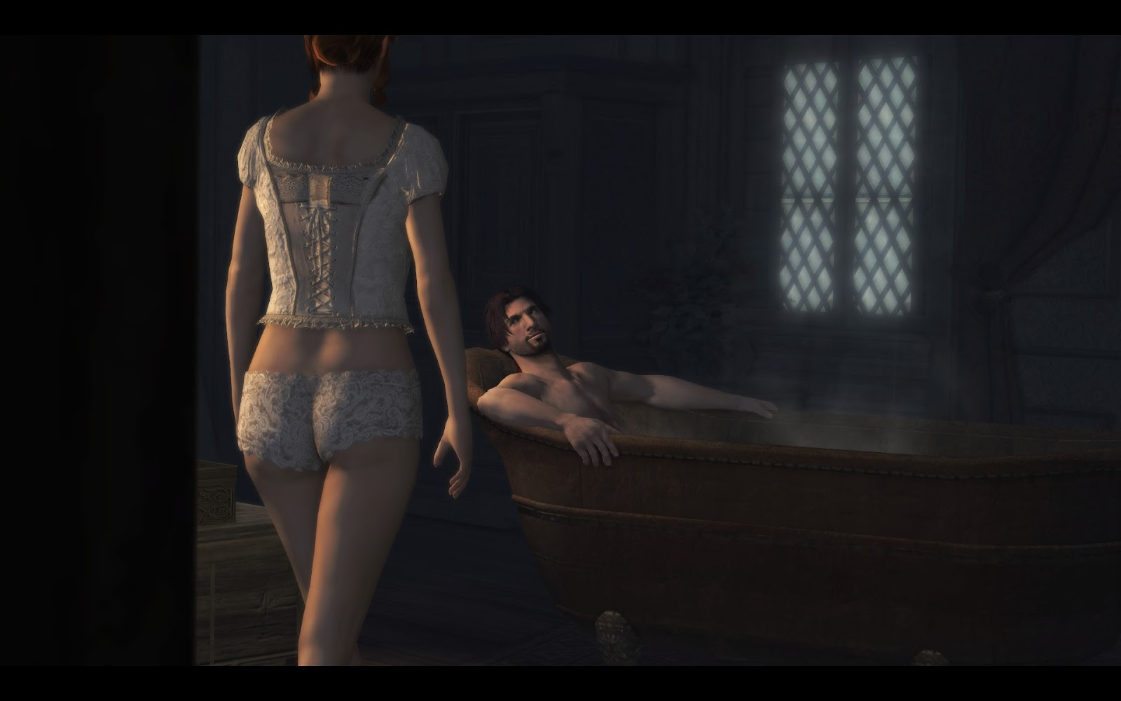 Ezio sex with christina softcore pictures
