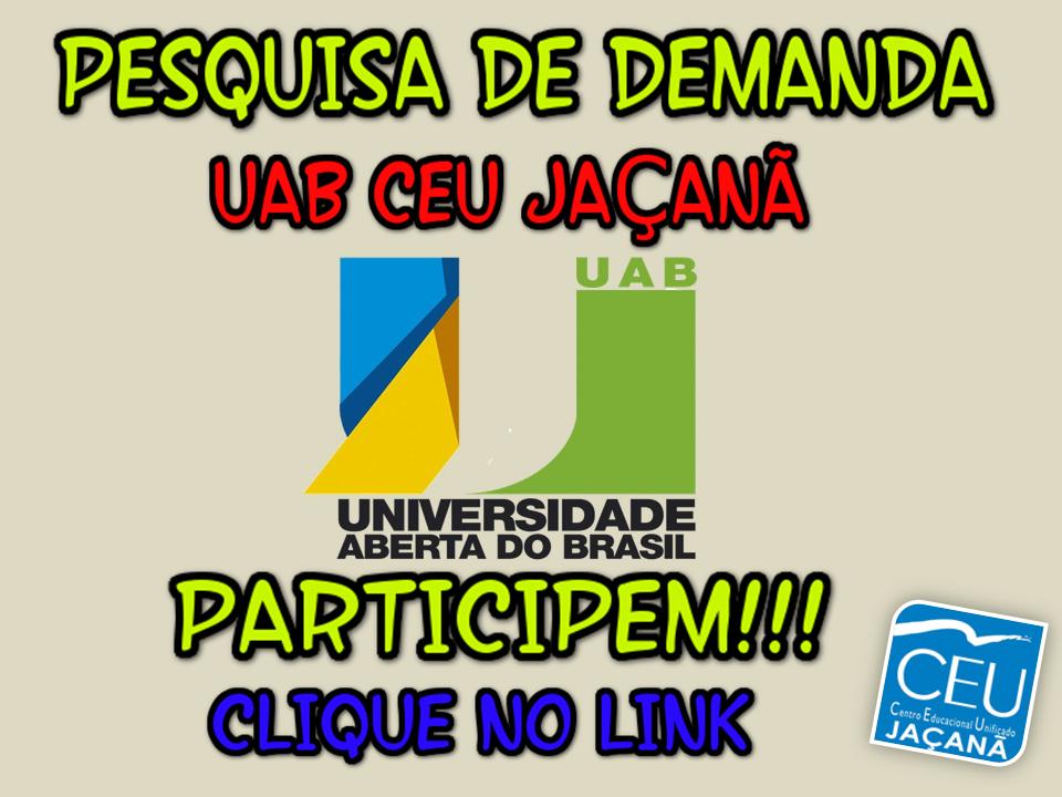 Quer estudar na Universidade Aberta do Brasil?