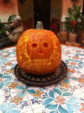 Pumpkin Carving in Oaxaca